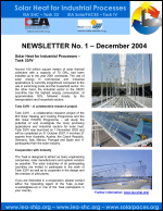 IEA SHC - Task 33 Newsletter No 1
